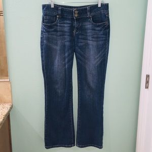 Kut From The Kloth Blue Denim Wide Leg Jeans